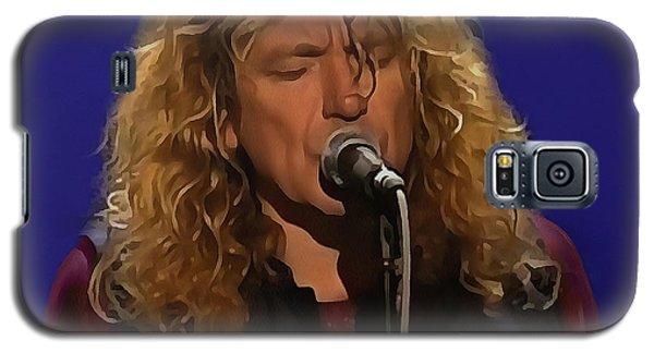 Robert Plant 001 Galaxy S5 Case by Sergey Lukashin