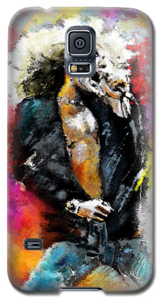 Robert Plant 03 Galaxy S5 Case by Miki De Goodaboom