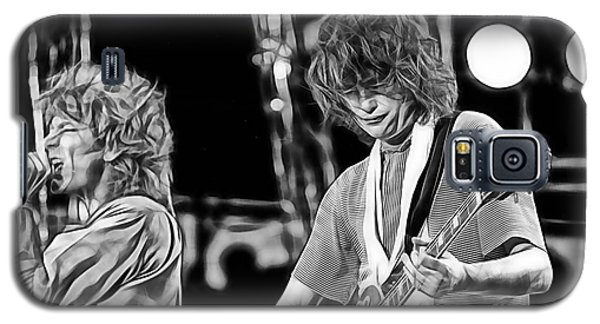 Robert Plant And Jimmy Page Galaxy S5 Case