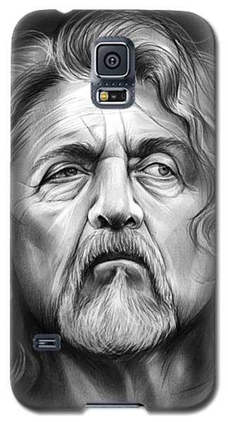 Robert Plant Galaxy S5 Case by Greg Joens