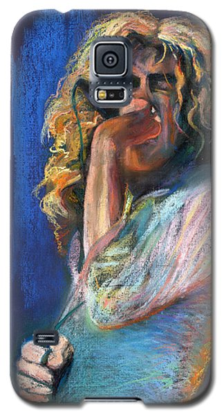 Musicians Galaxy S5 Case - Robert Plant by Laurie VanBalen