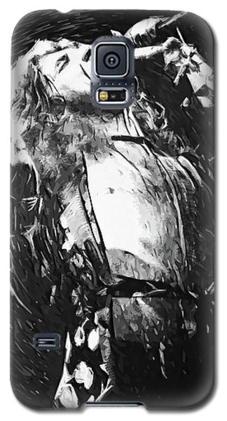Robert Plant Galaxy S5 Case by Taylan Apukovska