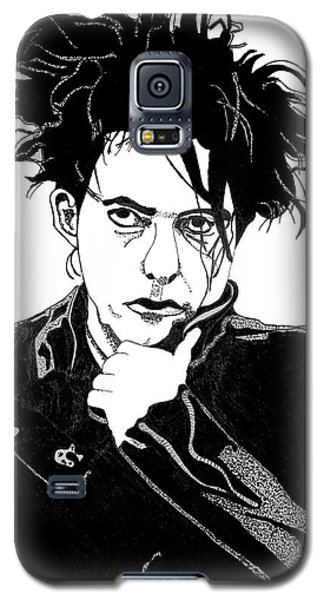 Robert Smith Music Galaxy S5 Case - Robert Smith 1 by Christine Perry