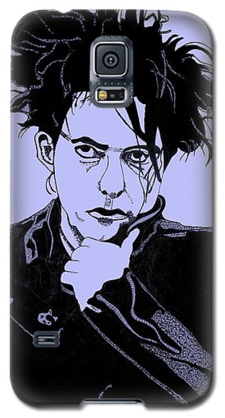 Robert Smith Music Galaxy S5 Case - Robert Smith 2 by Christine Perry