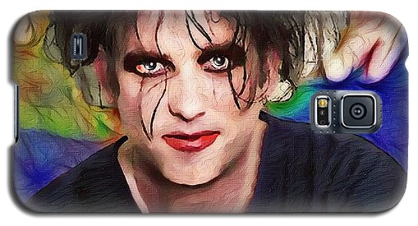 Robert Smith Music Galaxy S5 Case - Robert Smith A Good Soul Large Vers by Robert Radmore