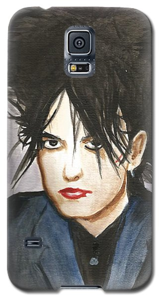 Robert Smith Music Galaxy S5 Case - Robert Smith by Amber Stanford