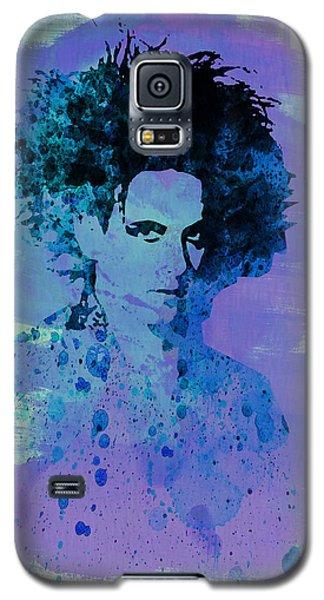 Robert Smith Music Galaxy S5 Case - Robert Smith Cure by Naxart Studio