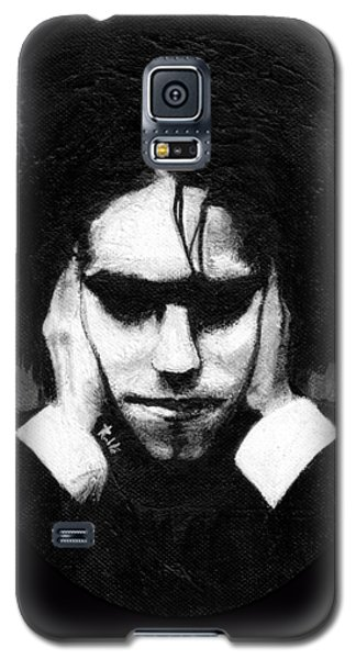 Robert Smith Music Galaxy S5 Case - Robert Smith by Rouble Rust