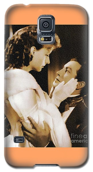 Robert Taylor And Greta Garbo Galaxy S5 Case