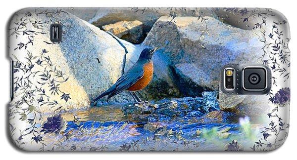 Robin Galaxy S5 Case by Athala Carole Bruckner