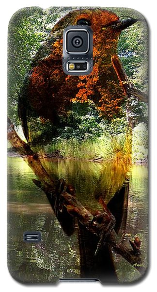 Robin By The River Galaxy S5 Case