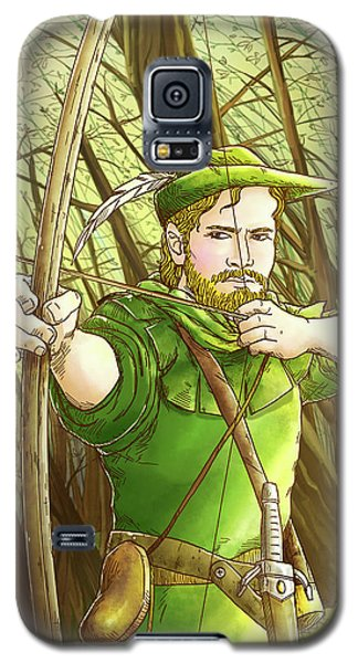 Robin  Hood In Sherwood Forest Galaxy S5 Case by Reynold Jay