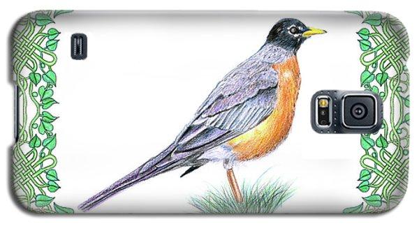 Robin In Spring Galaxy S5 Case