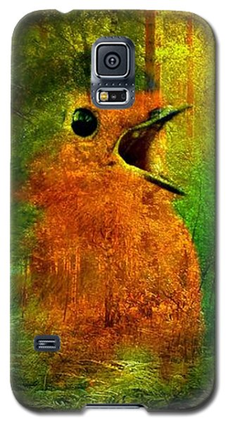 Robin In The Forest Galaxy S5 Case