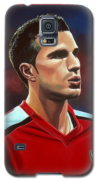 Robin Van Persie Galaxy S5 Case by Paul Meijering