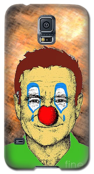 Robin Williams 1 Galaxy S5 Case by Jason Tricktop Matthews
