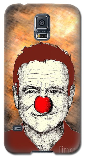 Robin Williams 2 Galaxy S5 Case by Jason Tricktop Matthews