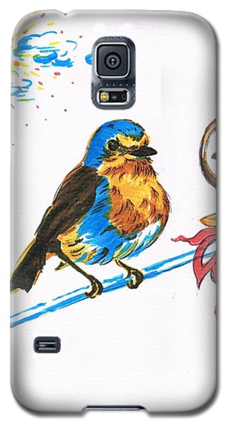 Robins Day Tasks Galaxy S5 Case by Teresa White
