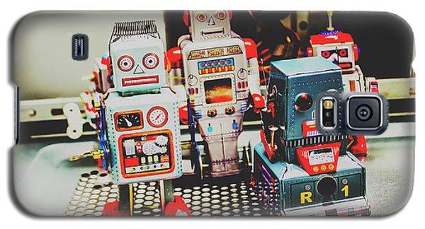 Robots Of Retro Cool Galaxy S5 Case