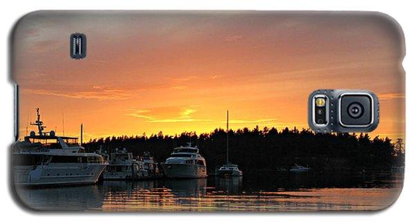 Roche Harbor Sunset Galaxy S5 Case