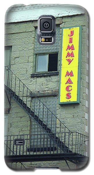 Galaxy S5 Case featuring the photograph Rochester, New York - Jimmy Mac's Bar 2 by Frank Romeo