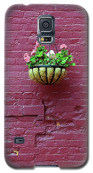 Galaxy S5 Case featuring the photograph Rochester, New York - Purple Wall by Frank Romeo