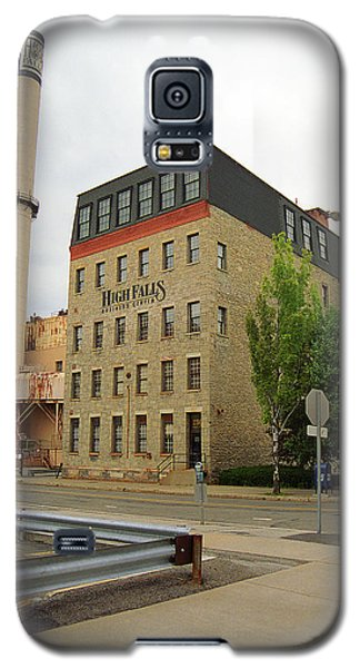Rochester, New York - Smokestack 2005 Galaxy S5 Case by Frank Romeo