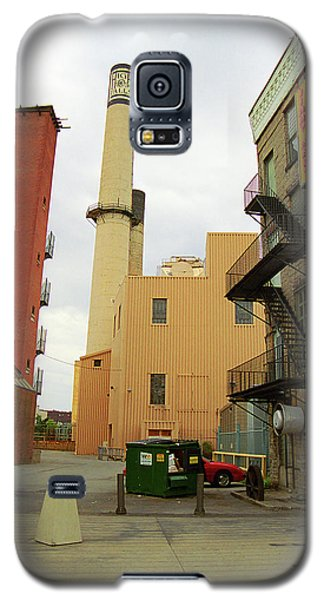 Rochester, Ny - Behind The Bar And Factory 2005 Galaxy S5 Case by Frank Romeo