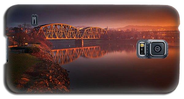Rochester Train Bridge  Galaxy S5 Case