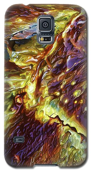 Galaxy S5 Case featuring the digital art Rock Art 28 by ABeautifulSky Photography