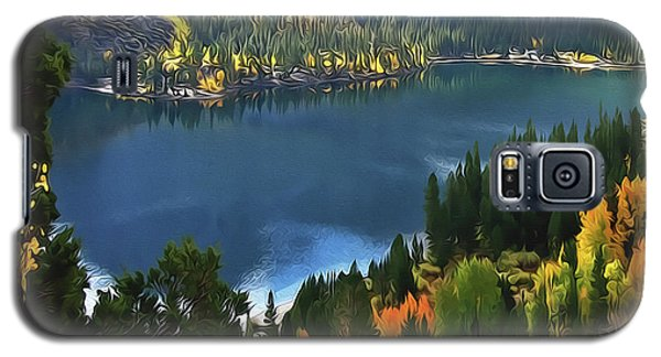Rock Creek Lake In Fall Galaxy S5 Case