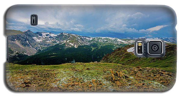 Galaxy S5 Case featuring the photograph Rock Cut 2 - Trail Ridge Road by Tom Potter