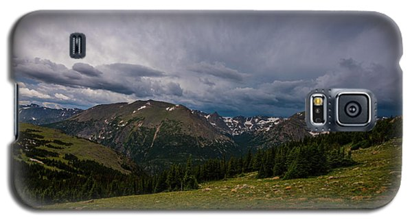 Galaxy S5 Case featuring the photograph Rock Cut 3 - Trail Ridge Road by Tom Potter