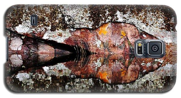Rock Face Reflected Galaxy S5 Case