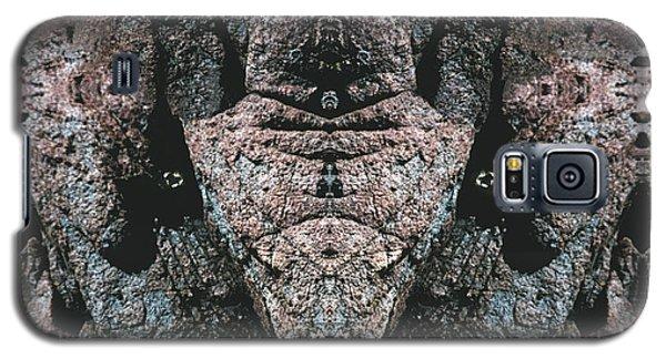 Galaxy S5 Case featuring the digital art Rock Gods Elephant Stonemen Of Ogunquit by Nancy Griswold