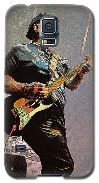 Rock Guitar Player Galaxy S5 Case