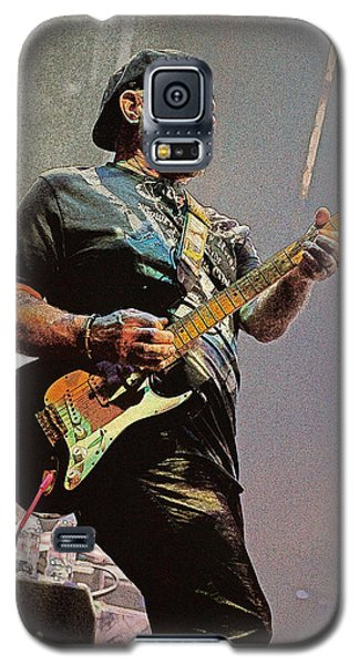Rock Guitar Player Galaxy S5 Case by Jim Mathis