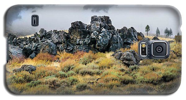 Galaxy S5 Case featuring the photograph Rock Outcrop by Frank Wilson