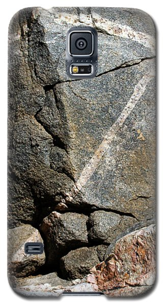 Rock Patterns-signed-#9753 Galaxy S5 Case