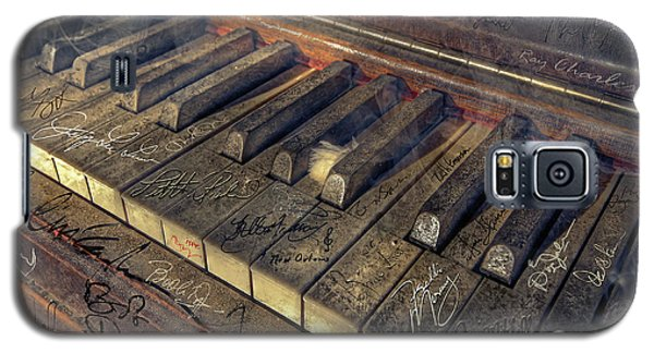 Neil Young Galaxy S5 Case - Rock Piano Fantasy by Mal Bray