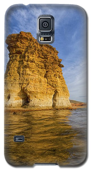 Rock Pillar At Wilson Lake Galaxy S5 Case