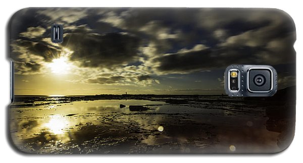 Rock Pool Sunrise Galaxy S5 Case