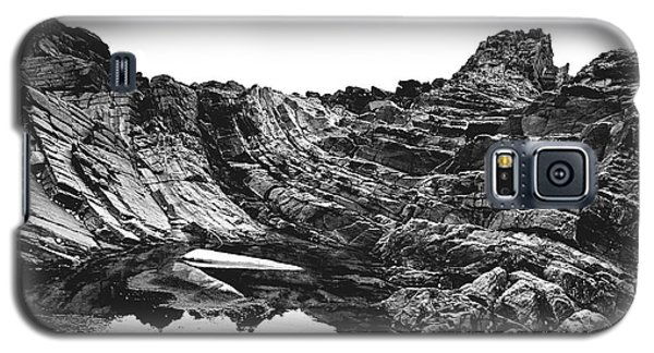 Galaxy S5 Case featuring the photograph Rock by Rebecca Harman