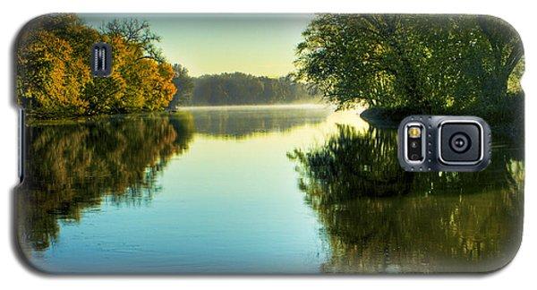 Rock River Autumn Morning Galaxy S5 Case