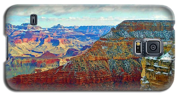 Galaxy S5 Case featuring the photograph Rock Solid by Roberta Byram