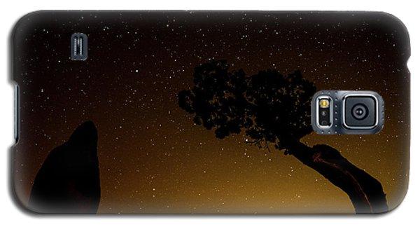 Rock, Tree, Friends Galaxy S5 Case