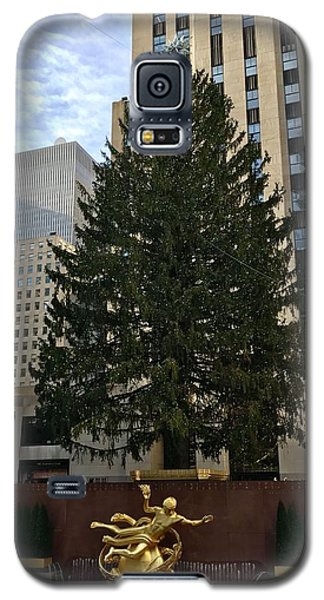 Rockefeller Center Christmas Tree Galaxy S5 Case