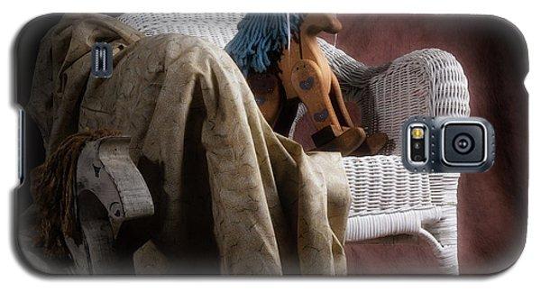 White Horse Galaxy S5 Case - Rockers by Tom Mc Nemar