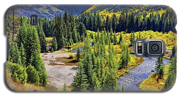 Rockies And Aspens - Colorful Colorado - Telluride Galaxy S5 Case