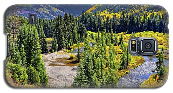 Rockies And Aspens - Colorful Colorado - Telluride Galaxy S5 Case